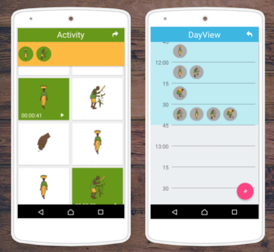 Master thesis mobile application